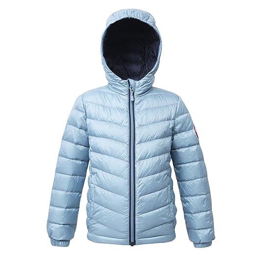 b2542b384 Rokka&Rolla Girls' Ultra Lightweight Hooded Packable Puffer Down Jacket