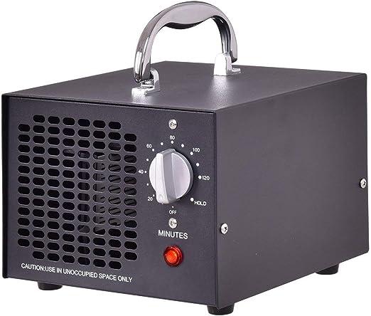 Generador De Ozono Comercial 5000 Mg/H Purificador De Aire ...