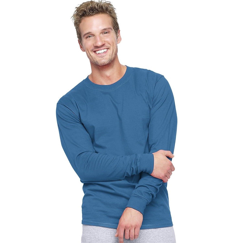 Hanes Men`s Adult Beefy-T Long-Sleeve T-Shirt