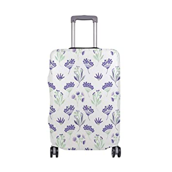 304c92c0ca1e Amazon.com | Purple Lavender Like Fan Travel Carry Luggage Protector ...