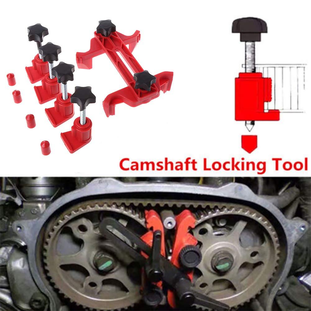 Shentesel 5Pcs Cam Lock Tool Camshaft Lock Holder Engine Cam Timing Set