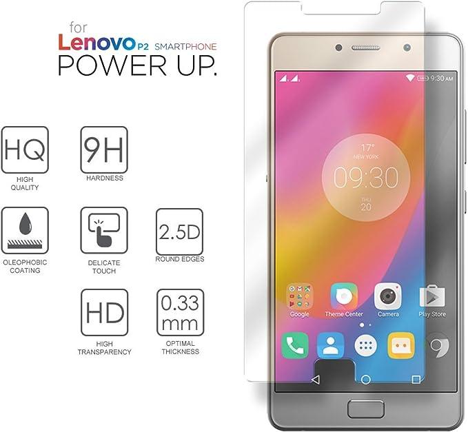 Lenovo P2 Cristal Protector de pantalla, eProte® ultra delgado ...