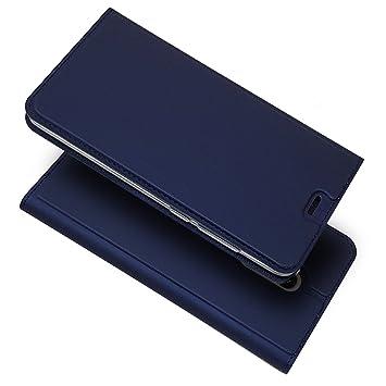 Copmob Funda Xiaomi Redmi Note 4, Slim Case de Estilo Billetera Carcasa Libro de Cuero,Carcasa PU Leather con Interna TPU Silicona [Función de ...