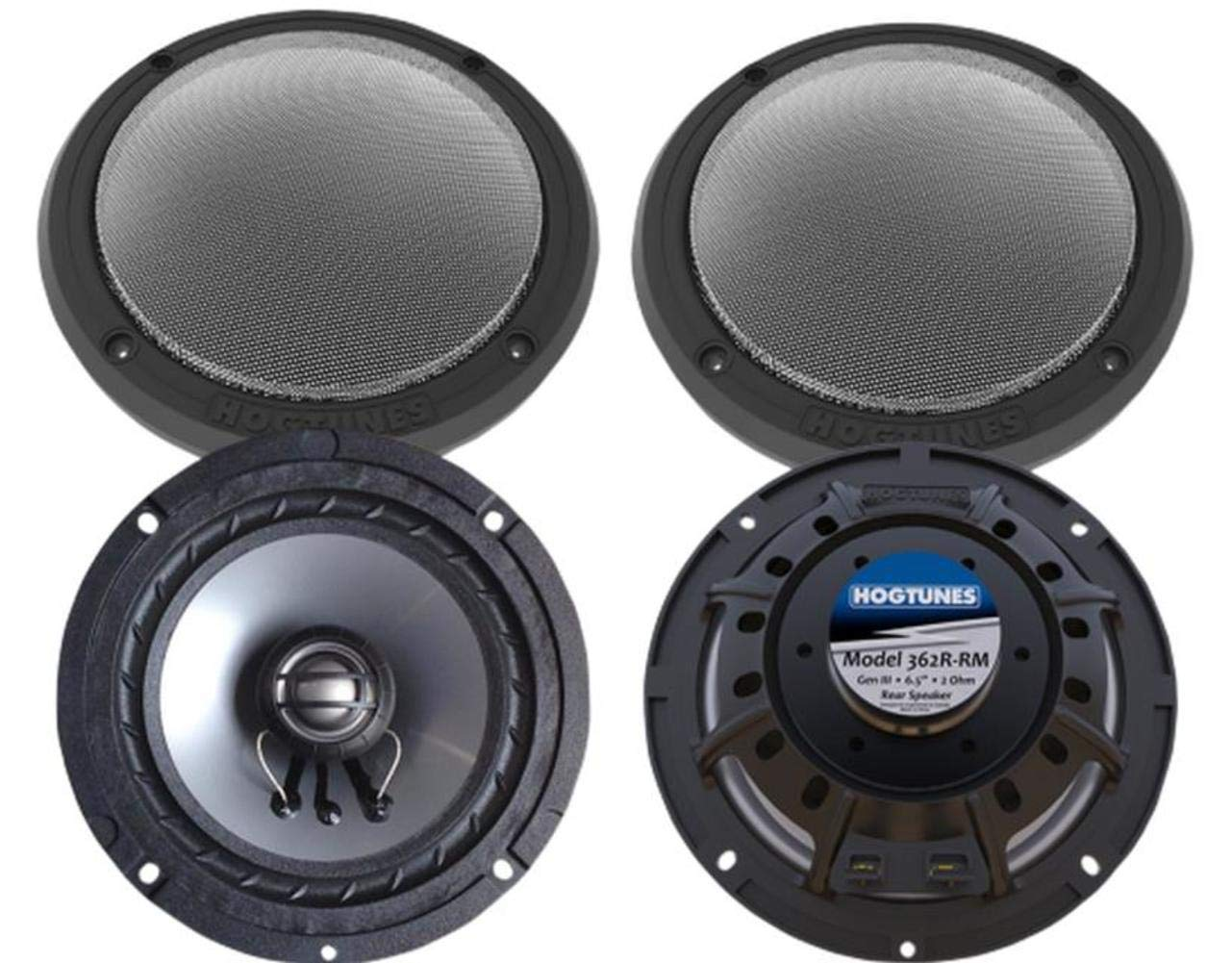 Hogtunes 362F-RM Front Speaker (Replacement Gen 3 6.5' for 2014-2016 Harley-Davidson Touring Models)