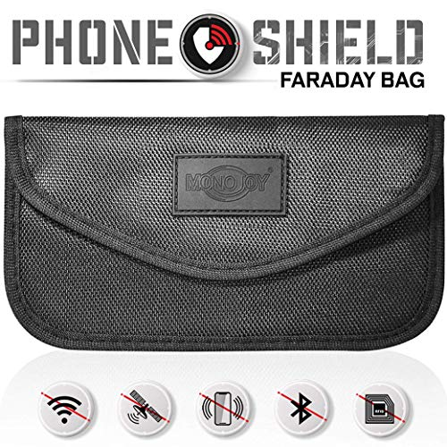 Gray Faraday Bag Key Fob Signal Blocker Wallet Cell Phone Radio Signal Blocking Pocket,Car Safe for Keyless Entry Remote Faraday Cage RFID Car Key Fob Protector Key Fob Pouch Guard Faraday Case