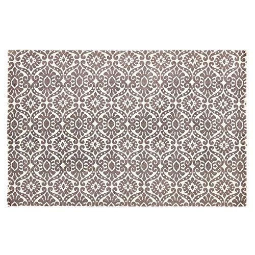 VHC Farmhouse Boho & Eclectic Flooring - Francesca Rug, 4' x 6', Smoky (Plum 4x6 Area)