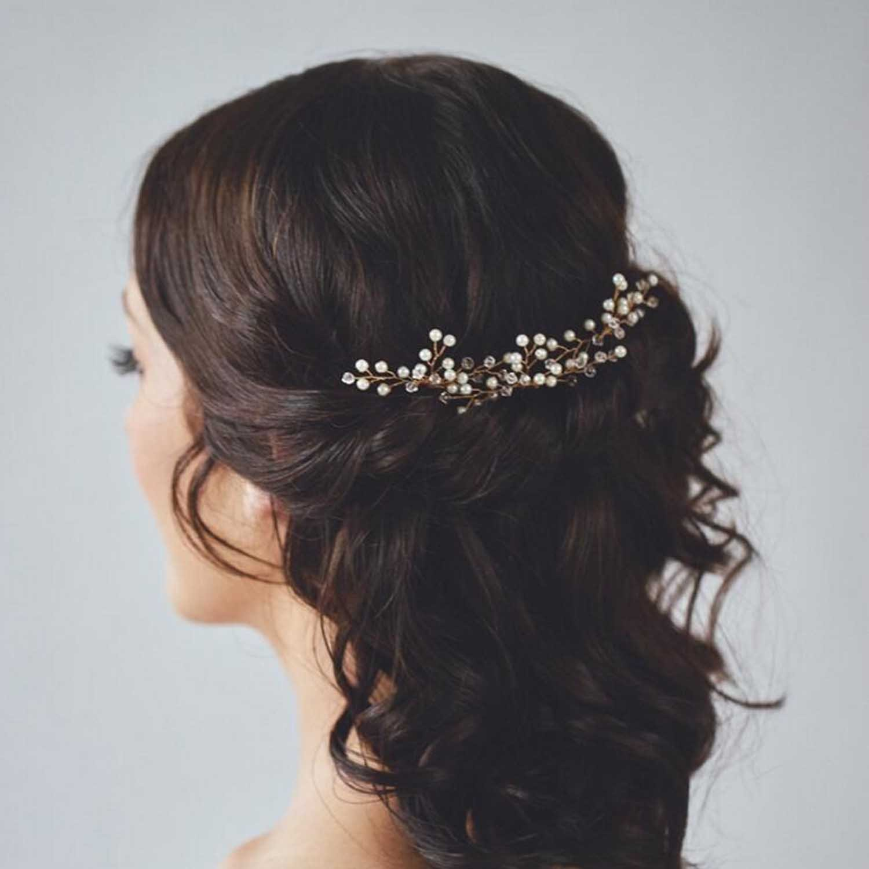 Amazon.com : Unicra Wedding Hair Combs Hair Accessories