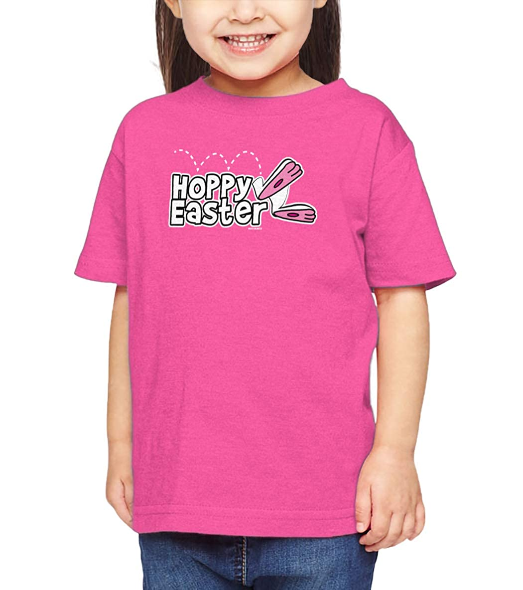 Happy Bunny Egg Infant//Toddler Cotton Jersey T-Shirt HAASE UNLIMITED Hoppy Easter