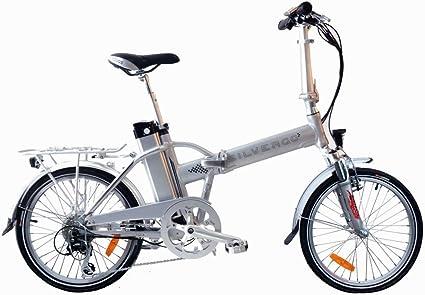 agogs silvergo 20 pulgadas eléctrico bicicleta plegable city Rueda ...