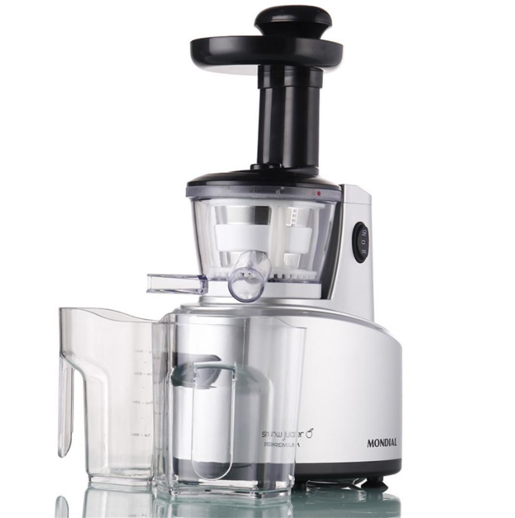 Jugo máquina baja velocidad casa 1 litro exprimidor eléctrica jugo máquina 22V: Amazon.es: Hogar