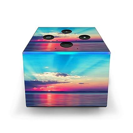 Amazon com : Skin Decal Vinyl Wrap for Amazon Fire TV Cube & Remote