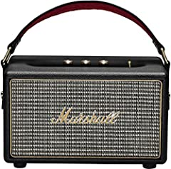 Kilburn Portable Bluetooth Speaker, Black Black The Kilburn portable active stereo speaker takes the unmistakable look and sound of Marshall, unplugs the chords, and takes the show on the road. Weighing in at a taut 3kg, The Kilburn is a ligh...