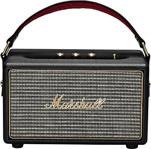 Marshall 4091189 Kilburn Portable Bluetooth Speaker, Black