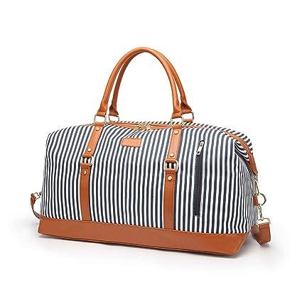 59475235660b Amazon.com : Grtodnz Large Capacity Ladies Women Canvas Travel Tote ...
