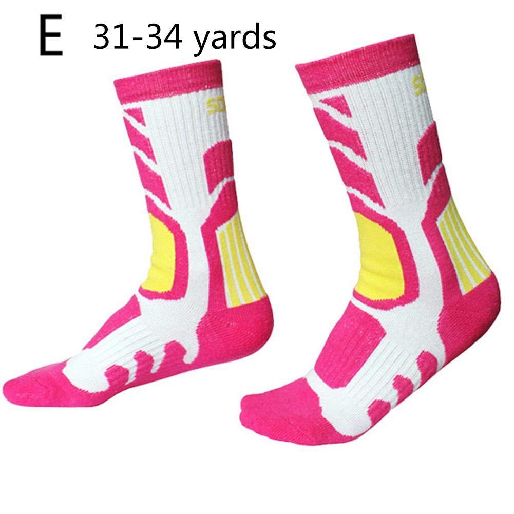 IrahdBowen Calze da sci termiche per bambini, calze sportive invernali ad alte prestazioni per ragazzi e ragazze- 4 Pack Snowboarding Hiking Boot Socks