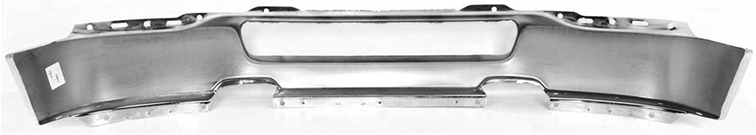 FO1002388 Chrome BUMPERS THAT DELIVER Steel Front Bumper Face Bar Shell for 2004-2006 Ford F-150 Pickup 04-06