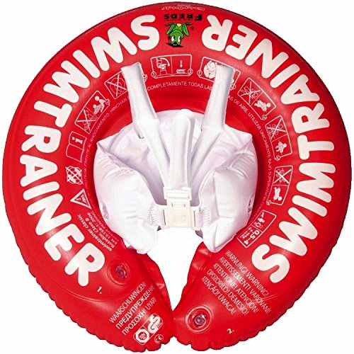 Fred's Swim Academy SwimTrainer Classic - Red (3 months - 4 years) (Ring Baby Swim)