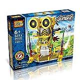 robotic armor - LOZ 3011 Motorial Alien Robot Robotic DIY Building Set Block Toy (Armor Kangaroo), 125 Pcs