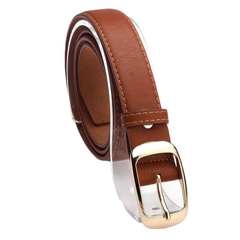 TRENTON Women Fashion Waist Belt Faux Leather Casual Waistband Strap