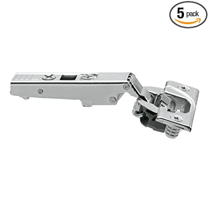 blum 110 degree straight arm clip top otion press in soft close