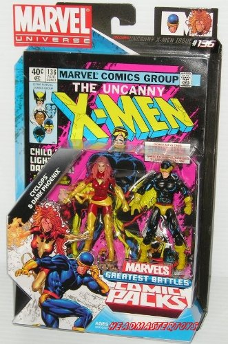 Marvel Universe Comic Packs: Cyclops and Dark Phoenix