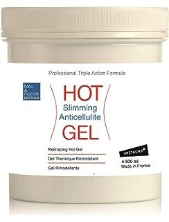 Hot Gel Adelgazante y Anticelulits ○ Thermo Gel con Algas, Café y Aceites Esenciales ○
