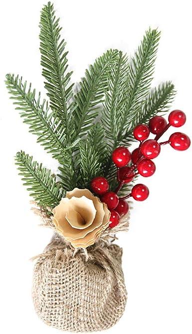 Arbol de Navidad Adornos Decorativos Mesa Cosas de Casa: Amazon.es: Ropa y accesorios