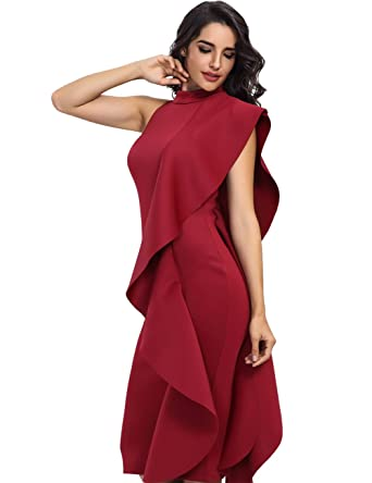 Miss Water Bandage-Dress-Red Xmas Chic Runway Luxury Lotas Prom Dress for Cocktail