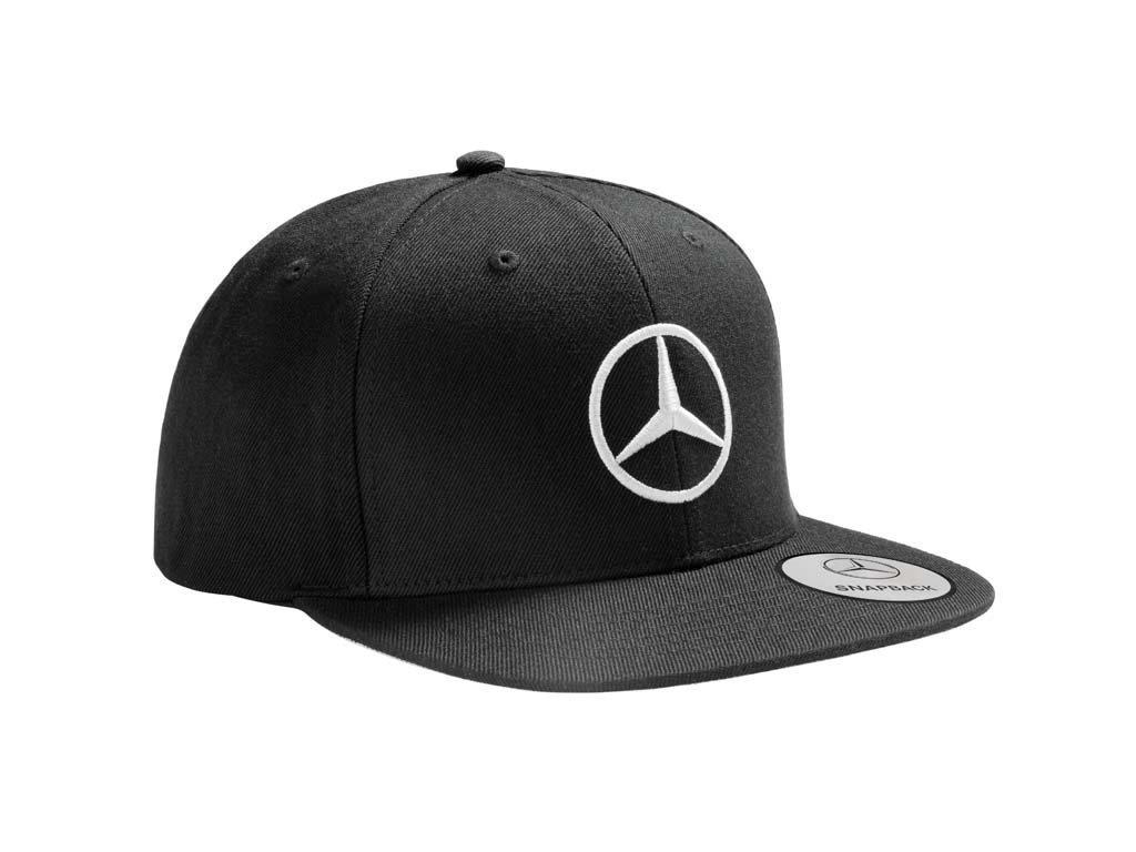Original Mercedes-Benz flat brim cap, black