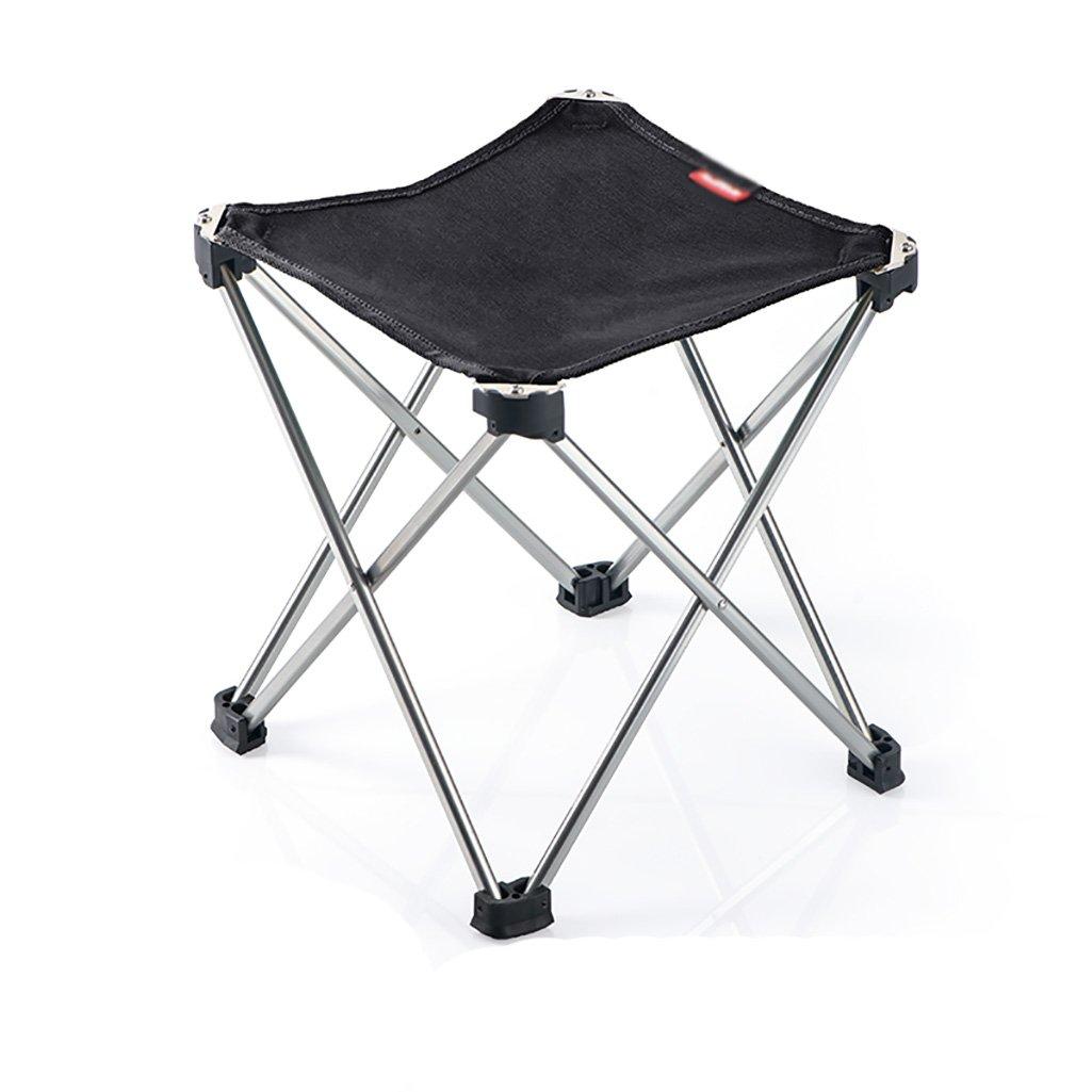 LQQGXL European chair Outdoor folding chair ultra light portable folding stool back fishing chair art sketching mini Mazar stool (Color : B) by LQQGXL