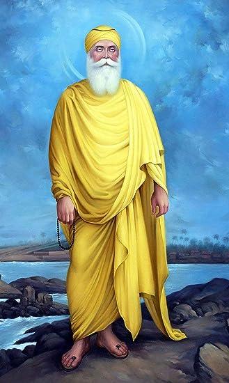 Tallenge - Guru Nanak Dev Ji - Sikh Guru - Magnet (6 x 4 inches):  Amazon.in: Home & Kitchen
