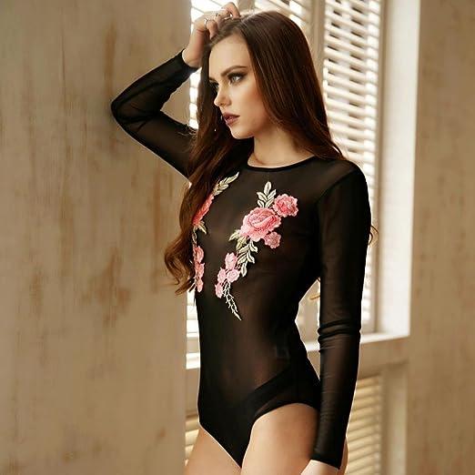 Blusa/Body florar transparentes y ajustado. Muy cómoda y sexy.