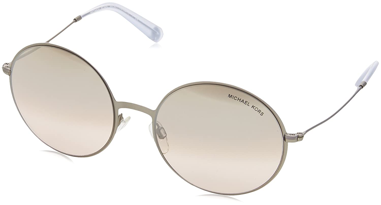 dce1ea61754a Amazon.com: Michael Kors Women's Kendall II Matte Silver/Iridescent  Sunglasses: Michael Kors: Clothing