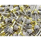100pcs/pk Dental Alumina Bowl Polishing Polisher Brush Prophy Brushes