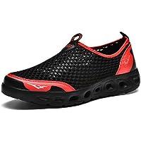 Para hombre de malla ligera de agua zapatos de los zapatos que caminan impermeables de secado rápido de peso ligero de…