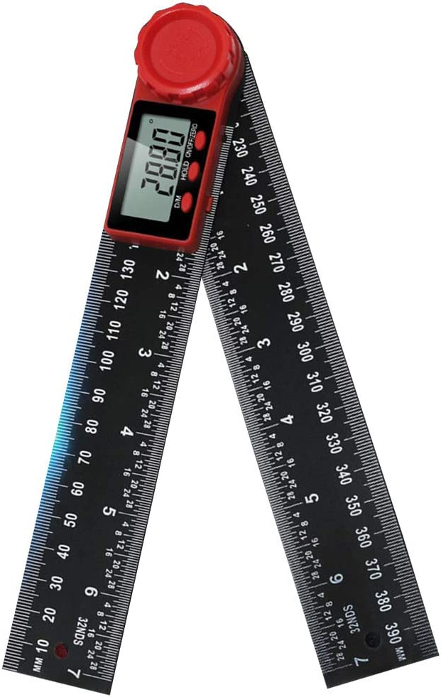 Ben-gi Digitale Anzeigewinkel Lineal Elektronische Goniometer Winkelmesser Winkelsucher Meter Messwerkzeug