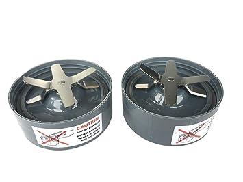 franzkitchen batidora de extractor de 2 recambios de cuchilla para Nutribullet 900 W Serie Nueva: Amazon.es: Hogar