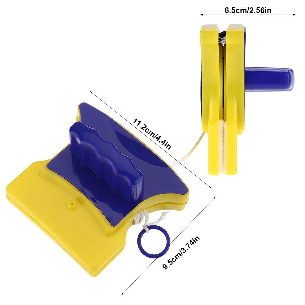 GLOGLOW Herramienta de Limpieza de Ventanas Cepillos magn/éticos para Ventanas limpiaparabrisas de Cristal Duradero para Cristal DE 3~8 mm de Grosor Doble Cara