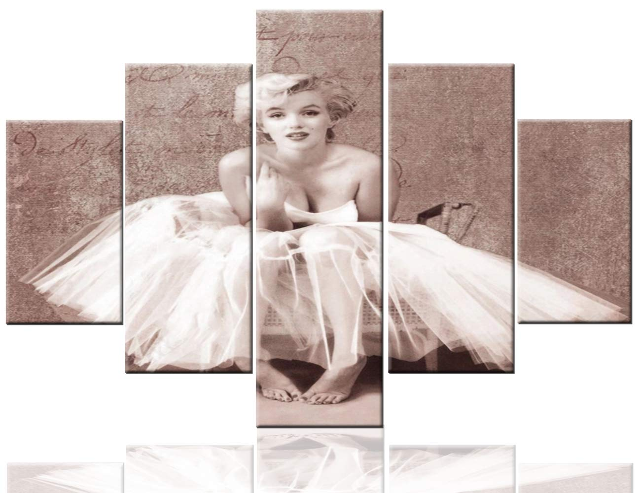Amazon Com House Decorations Living Room Monroe Marilyn Artwork