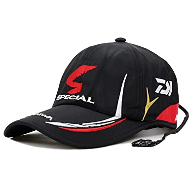18f87a56692f6 Image Unavailable. Image not available for. Color  Chad Hope Fishing Cap  Adult Men Adjustable Breathable Fishing Daiwa Japan ...