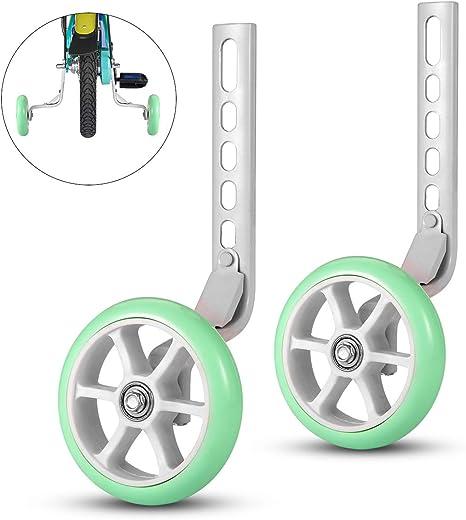 ZOSEN - Ruedas de Entrenamiento para Bicicleta, estabilizador de ...