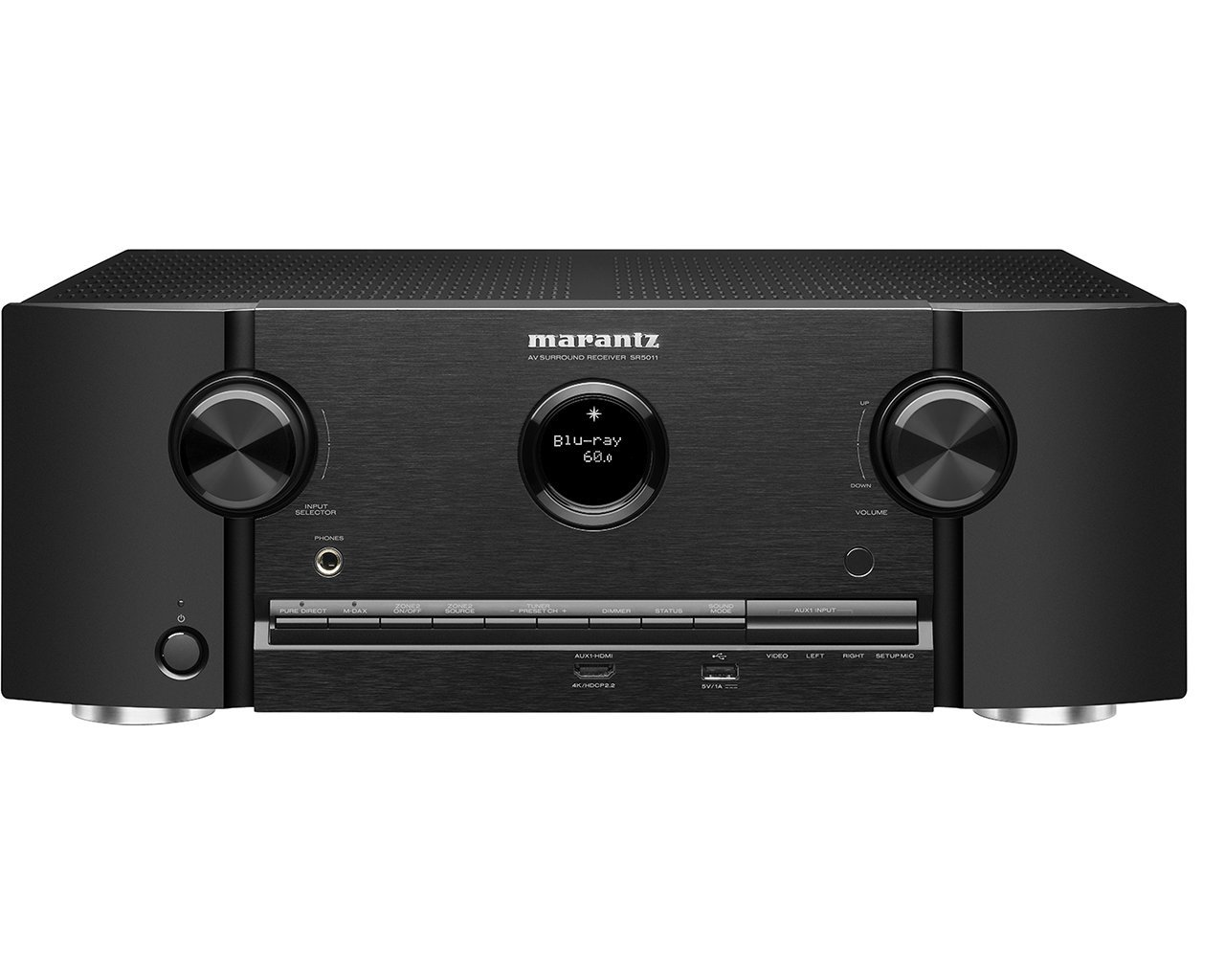 Amazon.com: Marantz SR5011 7.2 Channel Network Audio/Video Surround  Receiver with Bluetooth: Electronics