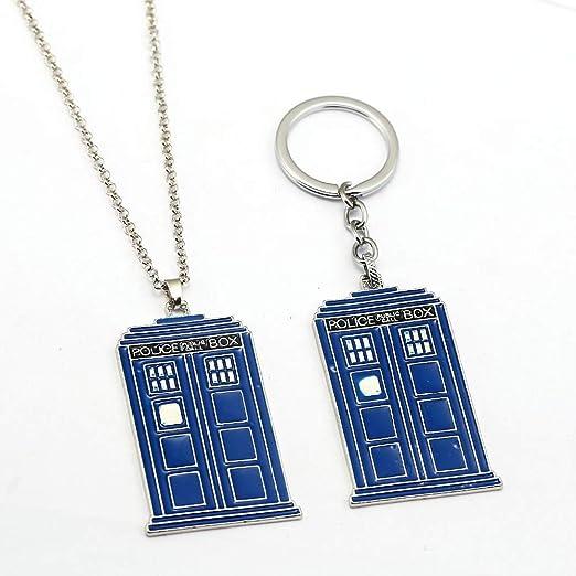 Mct12 - New Doctor Who Keychain Metal Key Ring Holder TARDIS ...