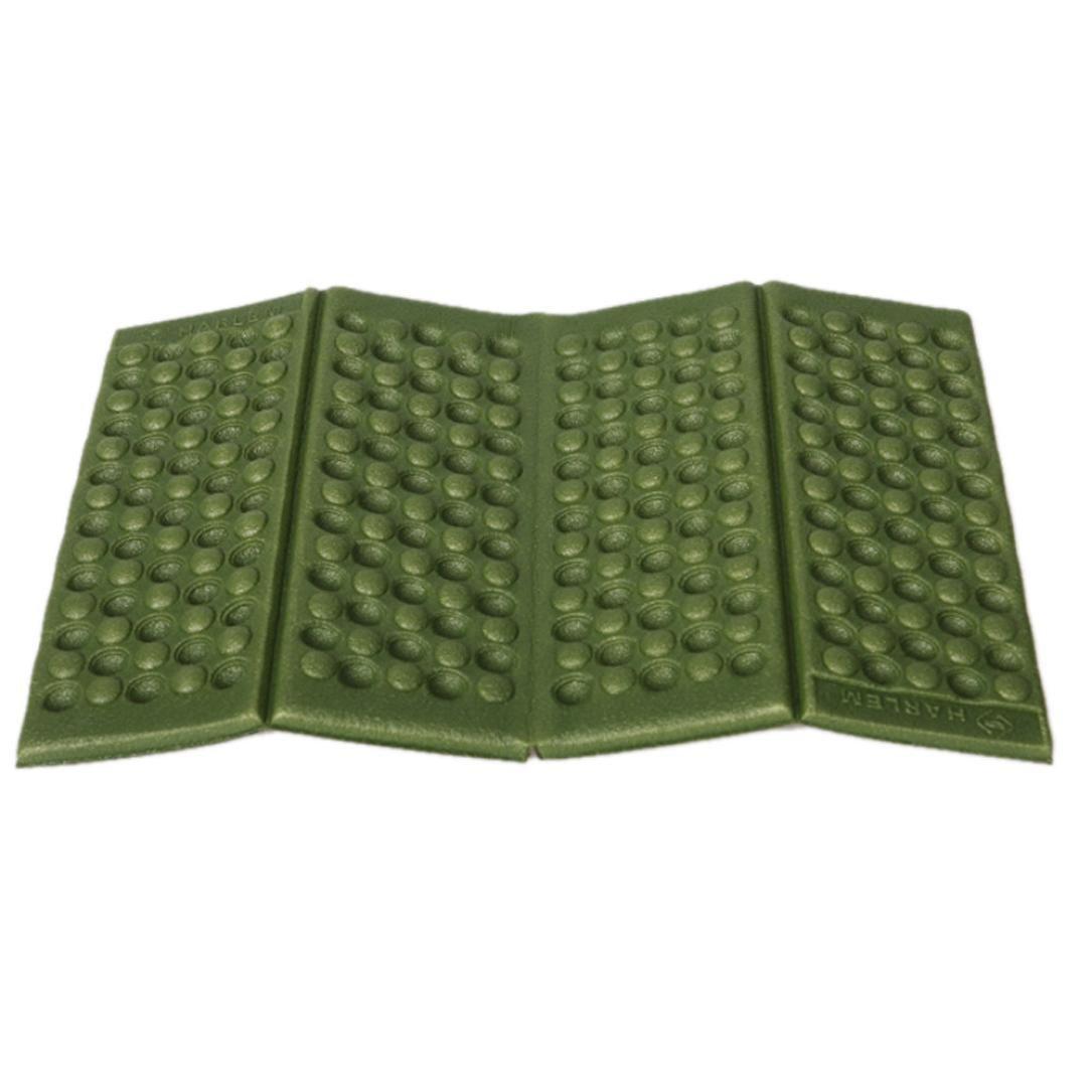 DZT1968 Moisture-proof Folding EVA Foam Pads Mat Cushion Seat Camping Park Picnic (Army Green)