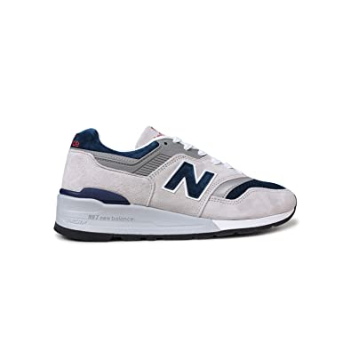 d87214a7a8a37 Amazon.com   New Balance Men's Made in USA Grey/Blue M997web   Fashion  Sneakers
