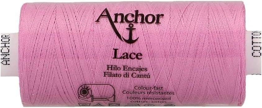 Gomitolo di filato 500 m 100/% cotone Anchor Lace 40 152. 3cm x 3cm x 7cm