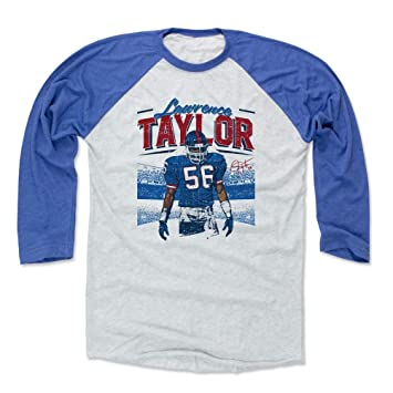 separation shoes 62301 72307 500 LEVEL Lawrence Taylor Shirt - Vintage New York Football Raglan Tee -  Lawrence Taylor Stadium