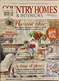 COUNTRY HOMES & INTERIORS SEPTEMBER 2015**