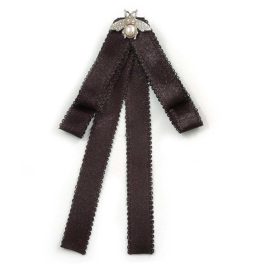 Avalaya Vintage Inspired/Retro - Corbata de Lazo de Seda Universal ...