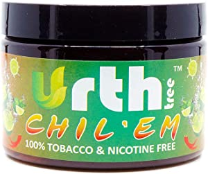 UrthTree Urth Tree Chil'em Chili Lemon Tobacco-Alternative 100% Tobacco-Free Nicotine-Free Hookah Flavor